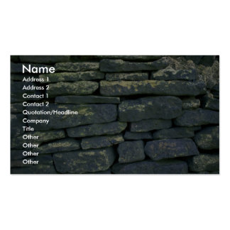 Dry stone wall business card templates