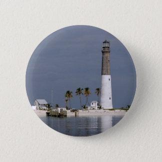Dry Tortugas Lighthouse 6 Cm Round Badge