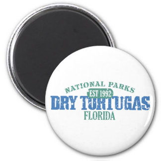 Dry Tortugas National Park 6 Cm Round Magnet