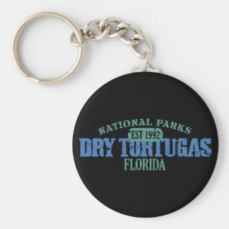 Dry Tortugas National Park Basic Round Button Key Ring