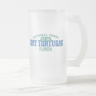 Dry Tortugas National Park Frosted Glass Mug