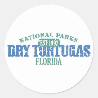 Dry Tortugas National Park Round Sticker