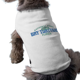 Dry Tortugas National Park Sleeveless Dog Shirt