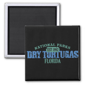 Dry Tortugas National Park Square Magnet