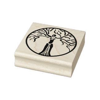 Dryad Rubber Stamp
