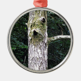 Dryad Silver-Colored Round Decoration