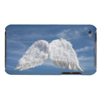 Drying angel's wings. iPod touch cover