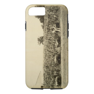 Drying leather, Argentina (albumen on card) iPhone 8/7 Case