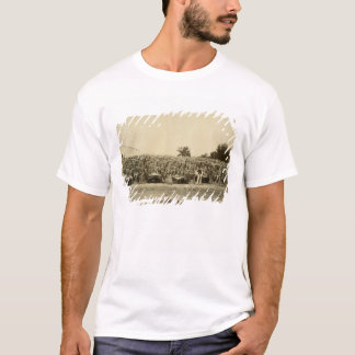 Drying leather, Argentina (albumen print on card) T-Shirt