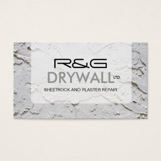 DRYWALL COMPANY BUSINESS CARD