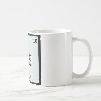 Ds - Dim Sum Chinese Chemistry Periodic Table Basic White Mug