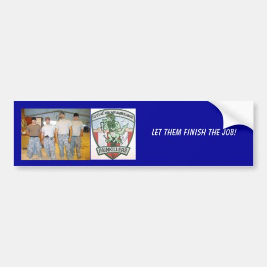 DSC03725 Large Web view, c1-111, Let them finis... Bumper Sticker