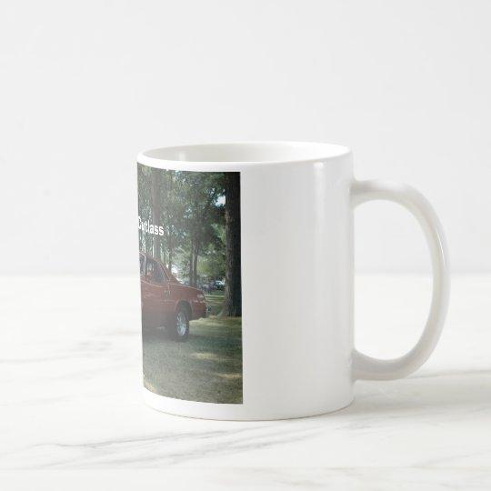 DSC_0145, 1977 Olds Cutlass, Photo by Brian Wic... Coffee Mug