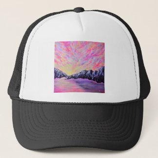 DSC_0720 (4).JPG Mystery Mountains by Jane Howarth Trucker Hat