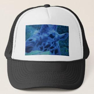 DSC_0729 (3).JPG Blue Giraffe by Jane Howarth Trucker Hat