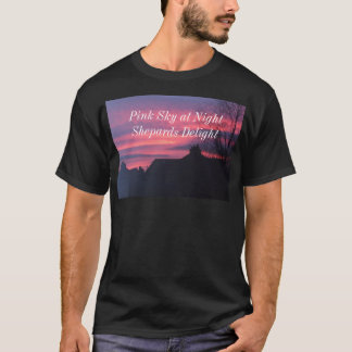 DSCF1729, Pink Sky at Night Shepards Delight T-Shirt