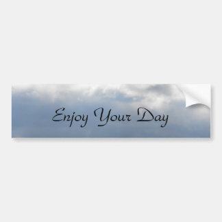 DSCF2825, Enjoy Your Day Bumper Sticker