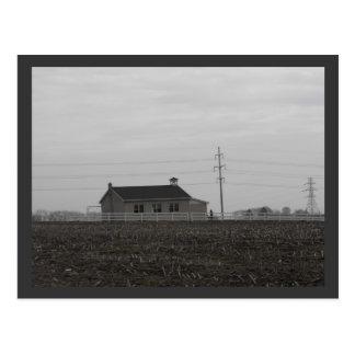 DSCF2847, Amish Schoolhouse Postcard