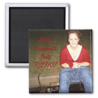 DSCI0002, Missy'sBacheloretteParty7/27/07 Square Magnet