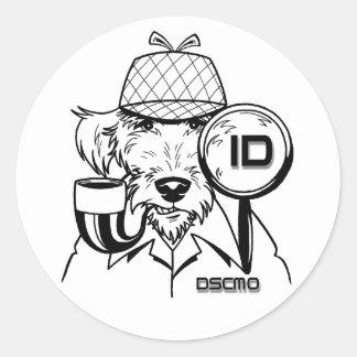 DSCMO - Identity Theft Investigator Sticker