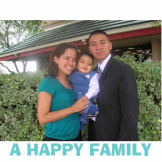 DSCN0233, A HAPPY FAMILY STANDING PHOTO SCULPTURE