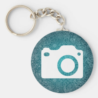 Dslr Cams Pictograph Basic Round Button Key Ring