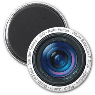 DSLR Feature 6 Cm Round Magnet