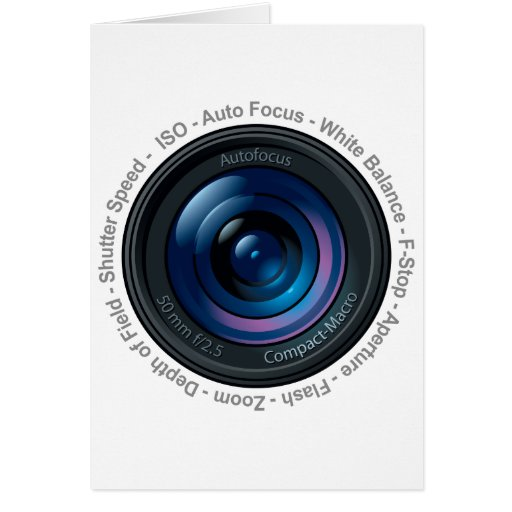 DSLR Feature Greeting Card