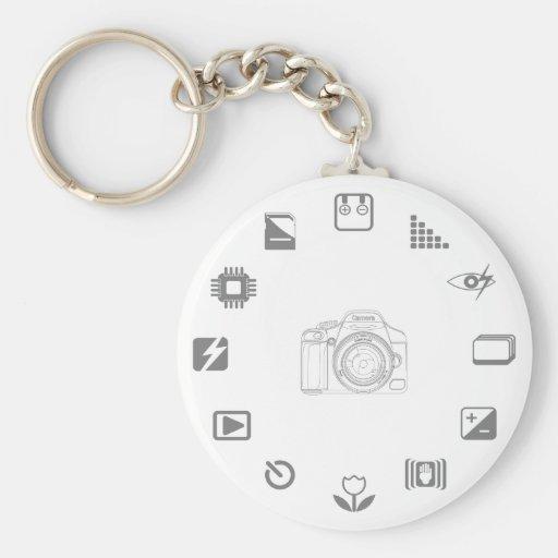 DSLR Feature Key Chain