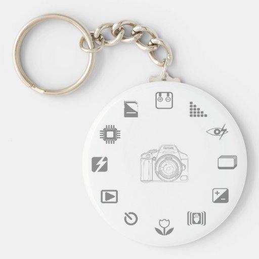 DSLR Feature Key Chains