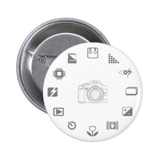 DSLR Feature Pinback Buttons