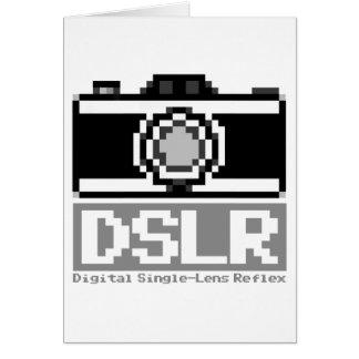 DSLR GREETING CARD