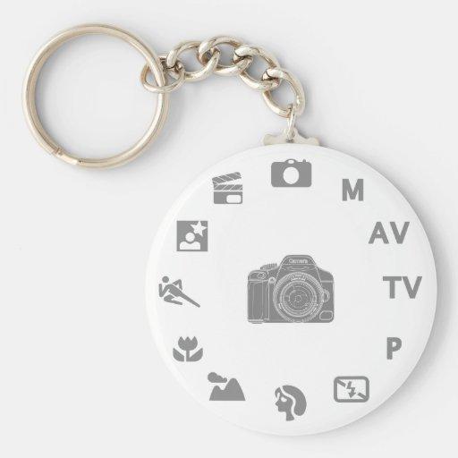 DSLR Mode Keychain