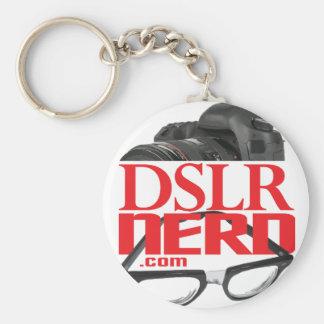 DSLR NERD BASIC ROUND BUTTON KEY RING