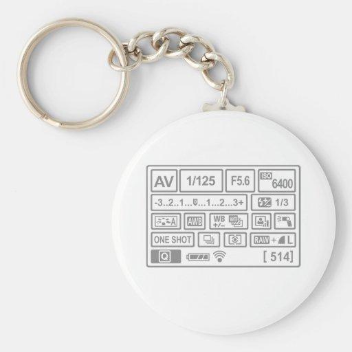 DSLR Setting Keychains
