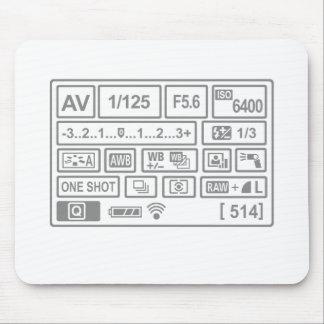 DSLR Setting Mouse Pad