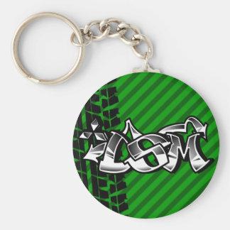 DSM Eclipse Talon 4g63 Green Keychain
