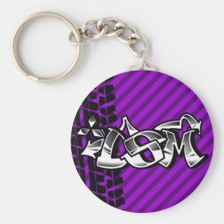 DSM Eclipse Talon 4g63 Purple Keychain