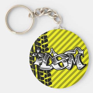 DSM Eclipse Talon 4g63 Yellow Keychain