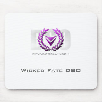 DSO Clan - Mouse Pad - Purple Crest