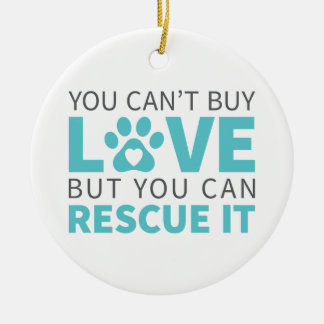 DTDR Can't Buy Love Porcelain Ornament