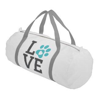 DTDR Love Duffle Bag, white Gym Bag
