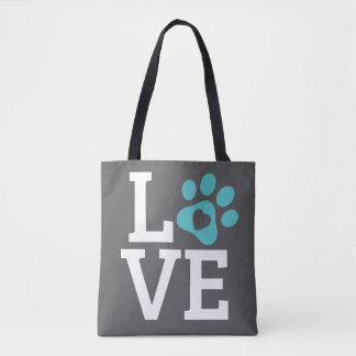 DTDR Love Tote Bag Gray