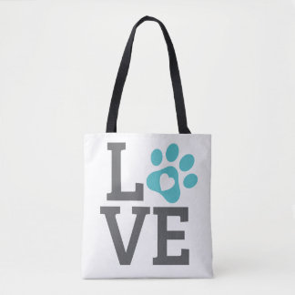DTDR Love Tote Bag White