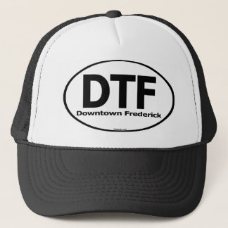 DTF Downtown Frederick Truckers Hat