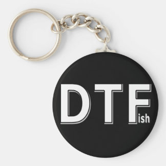 DTFish - Funny Fishing Key Ring