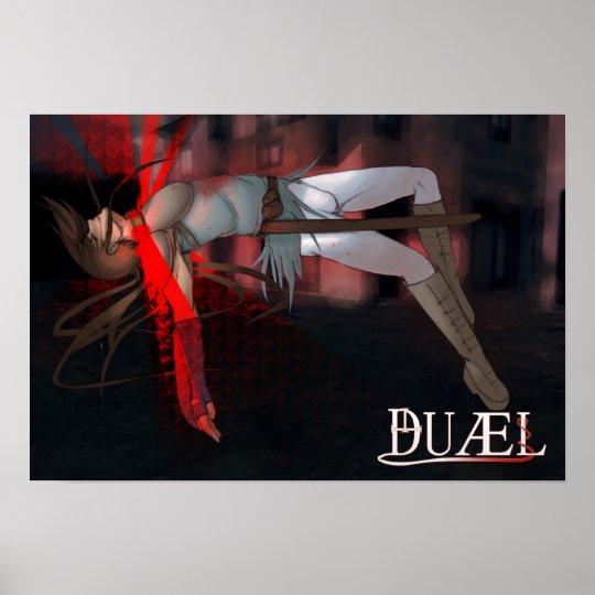 """""""DUÆL"""" - Cadfael Poster"""