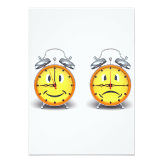 Dual Alarm Clocks Invitations