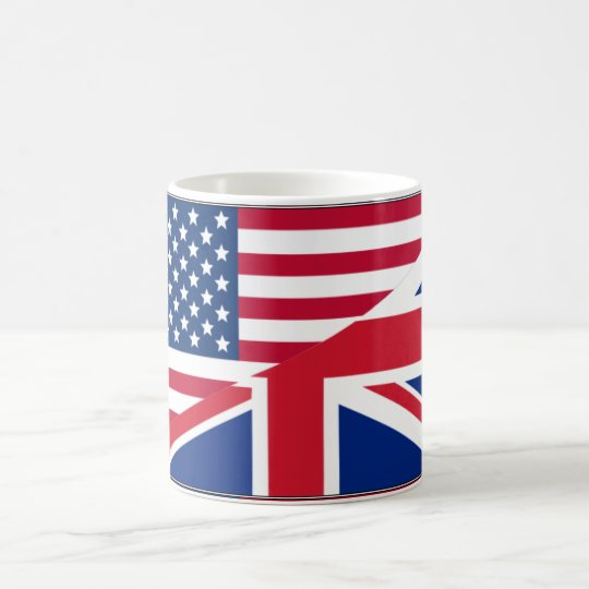 Dual Citizen American & British Flag Mug