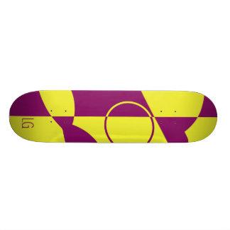 Dual-Colour Logo Deck Custom Skate Board